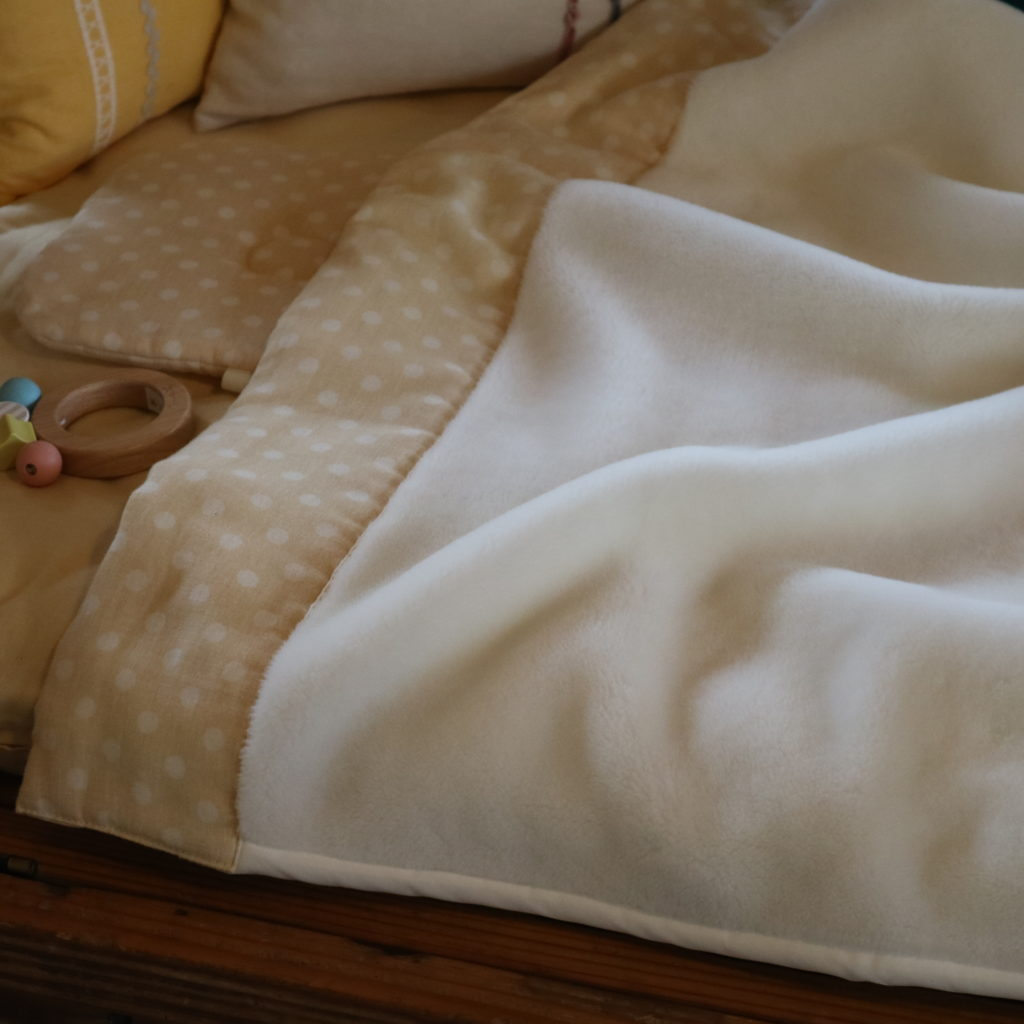 UFのベビー毛布